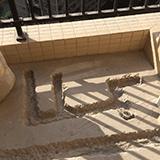 瓷砖复尺和地漏位置确认